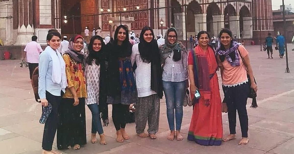 Girls in Sehwan, Sindh