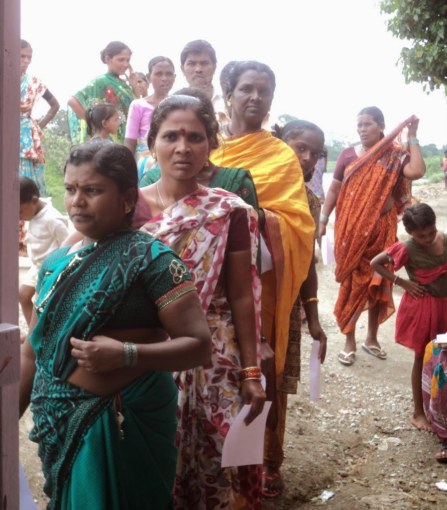 Whores in Saundatti, India