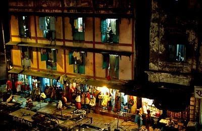 Barasat, India skank